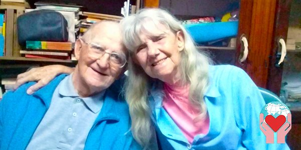 Don Andrea Ravasio e Paquita Ravasio fratelli missionari in Venezuela