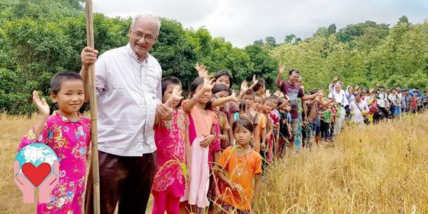 Bambini poveri del Bangladesh