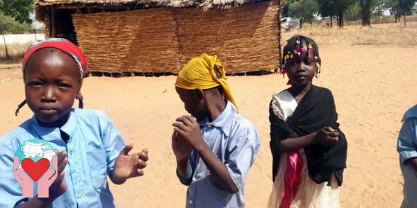 Bambini poveri in Ciad
