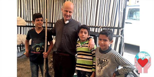 Bambini rifugiati siriani