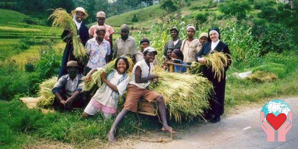 bambini poveri del Madagascar