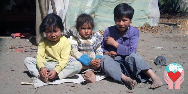 bambini poveri dell Ecuador