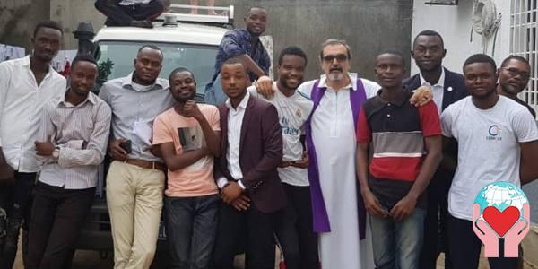 Missionario in Congo