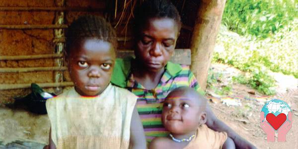 Bambini pigmei africani Congo