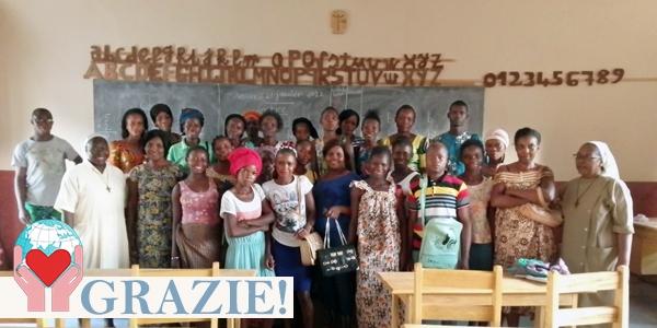 Bisogni educativi bambini ed adulti in Centrafrica