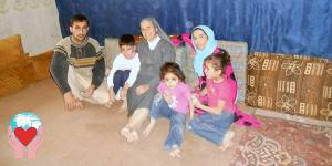 Famiglia sotto le bombe