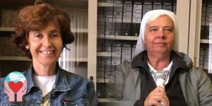Maristella Bigogno e suor Patrizia
