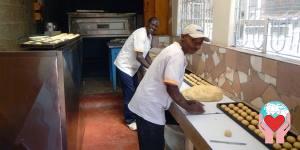 laboratorio di panetteria dei carmelitani per alimentazione kenya