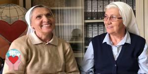 Suor Evelina Mattei e suor Lucia Sabbadin