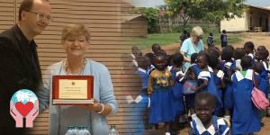 Carla Magnaghi premio cuore amico Sud Sudan