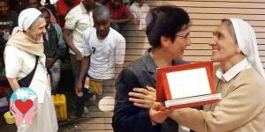 Evelina Mattei  premio cuore amico Congo