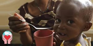 Repubblica del Benin latte bambini malnutriti