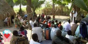 Tanzania santa messa senza chiesa