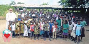 Eugenio Petrogalli missionario in Ghana