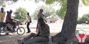 Senzatetto per la guerra civile di boko haram