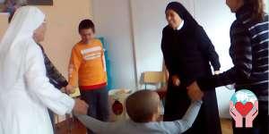 Bambini poveri Romania