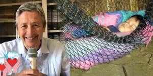 Rina Amaini aiuta i bambini poveri in Ecuador