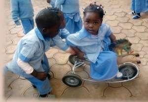 Bambini poveri del Camerun