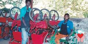 carrozzine disabili aiuti umanitari