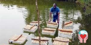 aiuti umanitari insegnare piscicoltura