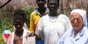 Suora comboniana in Sud Sudan