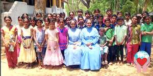 Bambine povere in India