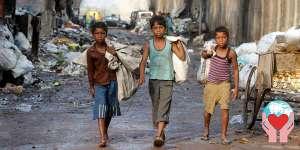 Bambini poveri dell India