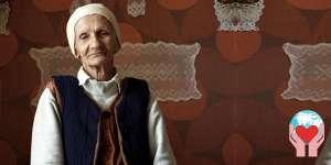 Donna anziana georgia