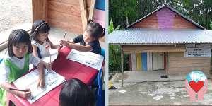 scuola in Indonesia bambini