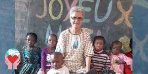 Missionaria laica Burkina Faso al centro di accoglienza