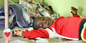 bambino povero Camerun