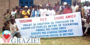 Pigmei africani in Burundi