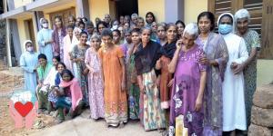 Accoglienza Donne anziane disabili India