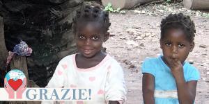 Bambini orfani Togo