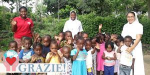 Suora missionaria in Mozambico