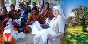 suora missionaria in Asia