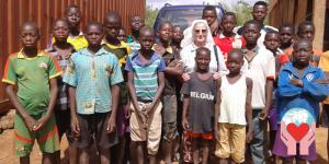 bambini poveri Burkina Faso