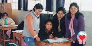bambine povere del Perù