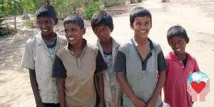 Bambini poveri Sri Lanka