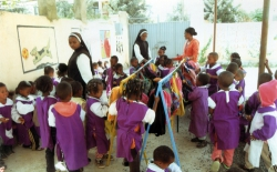 Bambini poveri asilo