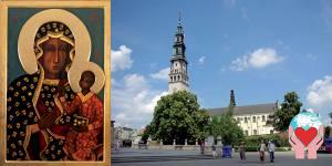 Santuario di Częstochowa In Polonia